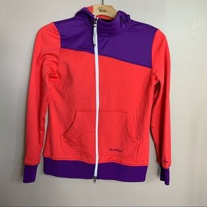 The north face pink and purple jacket
